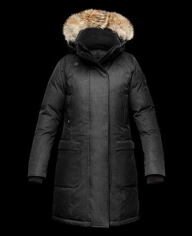 Nobis Ladies Merideth Jacket in Crosshatch Black