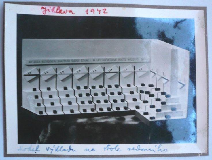 BAŤA - VÝKLADNÍ SKŘÍNĚ Baťa - JIHLAVA !!! rok 1942