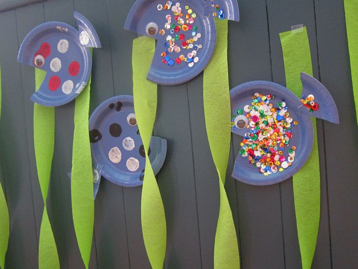 Make your own ocean party decorations