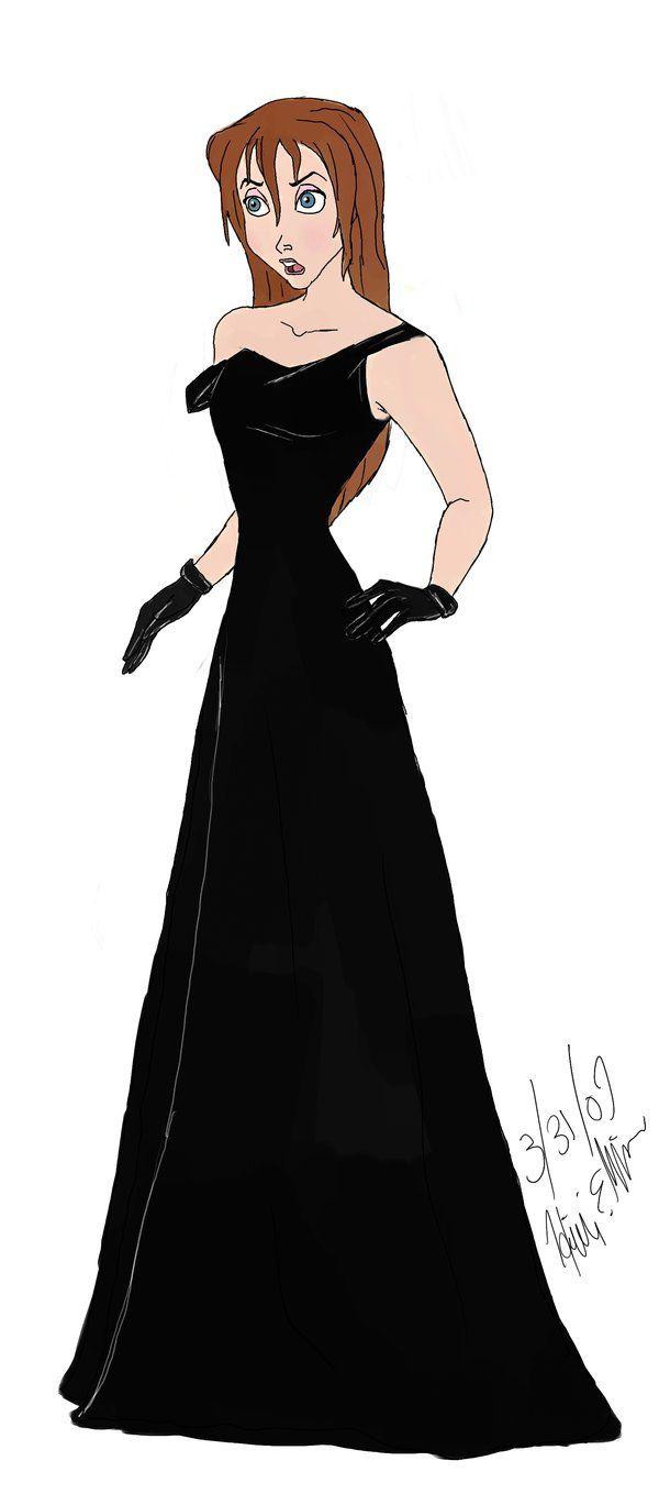 Jane [as Lieutenant Helga] (As Princesses by Stargate4Ever23 @deviantART) #Tarzan #Atlantis