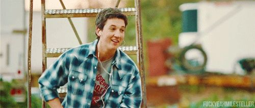 Miles Teller As Willard in Footloose - the only thing better in the remake than the original.
