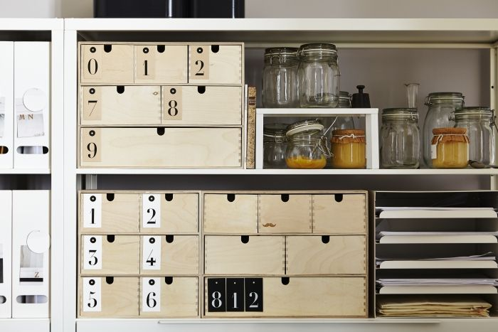 25+ beste Ikea Idee u00ebn op Pinterest   Ikea, Ikea hacks en Slaapkamer opslag