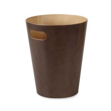 Woodrow tumman ruskea roskakori
