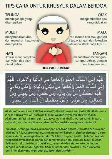 Doa di pagi jumaat