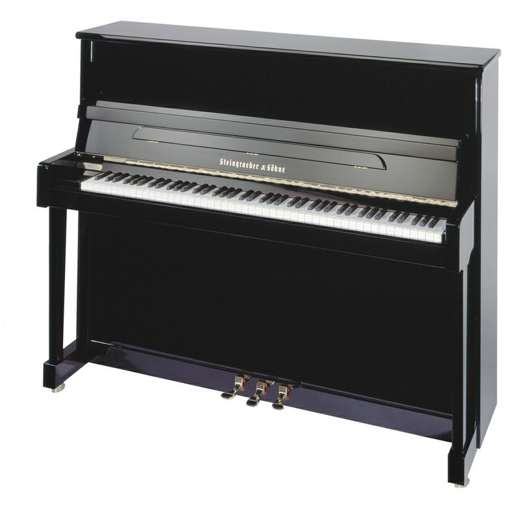 Model 122 is a high quality upright of modest dimensions. This is the smallest in the line-up but still features Steingraeber's hallmark intelligent design, quality and attention to detail. A particularly special feature is the auxiliary soundboard, which provides for colour enrichment and enhanced projection in the middle register. This model is currently in use as a stage piano at the Festspielhaus Bayreuth, at the Teatro alla Scala in Milan, and at numerous music conservatories…