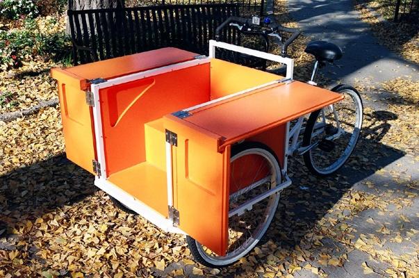 cargo bikes.