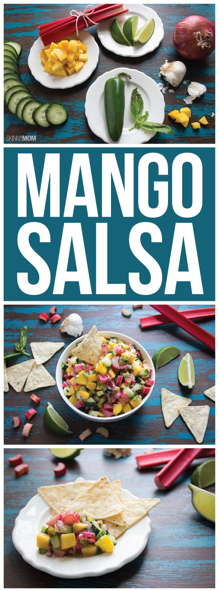 Serve this tasty salsa alone or over our Caribbean Jerk Chicken!