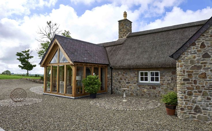 The #oak frame build is by our sister company Welsh Oak Frame.