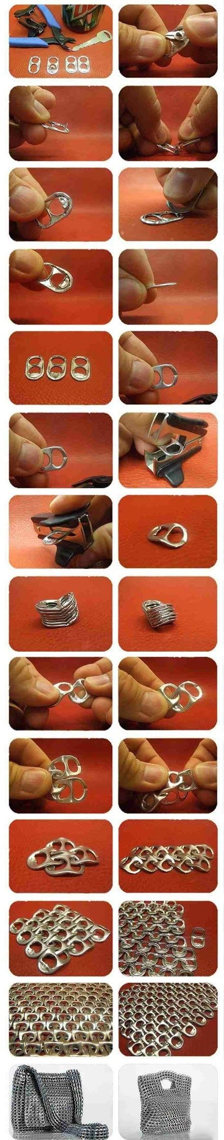 what you can accomplish with a few ring pulls - Infinite Picdump 125/∞