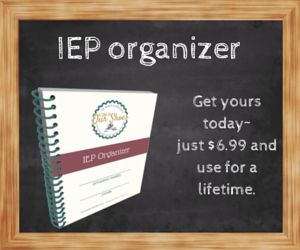 Implementing Executive Functioning strategies in your IEP
