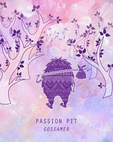 Passion Pit #music #poster #illustration