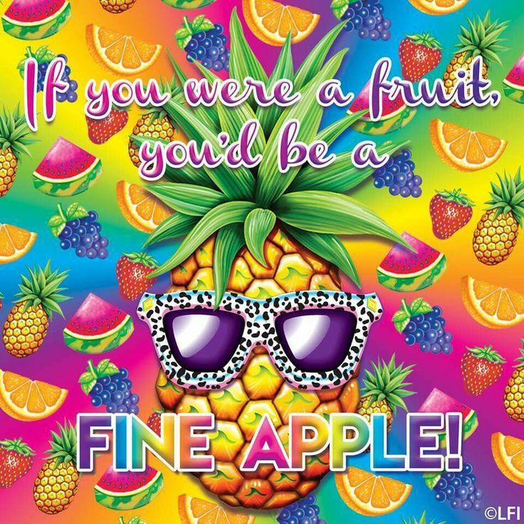 Lisa Frank  Fine-apple