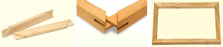 "$5 Stretcher Bar Frame Sets.  16"" x 20"", 18"" x 24"", 24"" x 24""   www.frame-wraps.com"