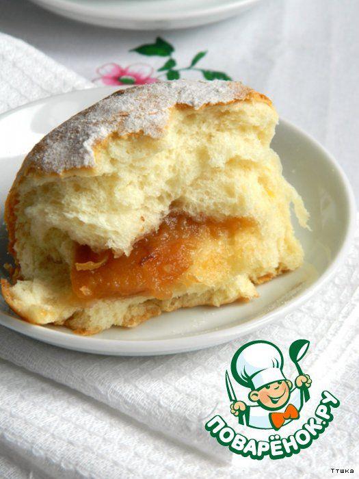 Бухтели- воздушные булочки с начинкой
