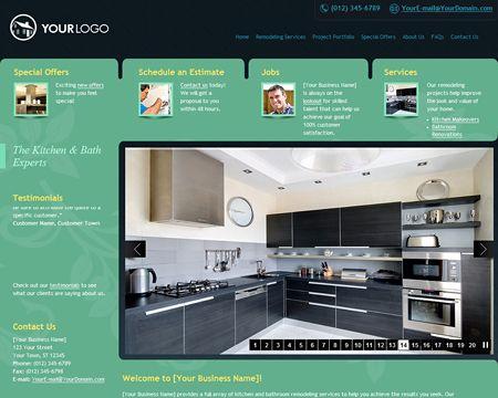 Impressive kitchen website theme Free Websites for Other Website