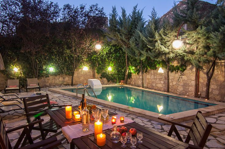 There are so many things you can enjoy in #Villa #Sarris in #Rethymon...the wonderful #pool, the total #privacy, #outdoors #dining, the fresh #countryside air and many more!