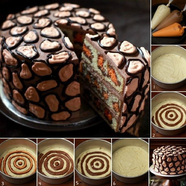 Amazing Leopard Cake Tutorial for You to Try