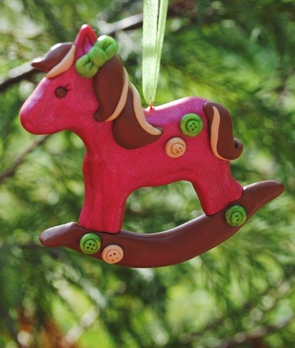 Christmas Tree Ornaments Horse: 20 Best Rocking Horse Christmas Ornaments Images On Pinterest
