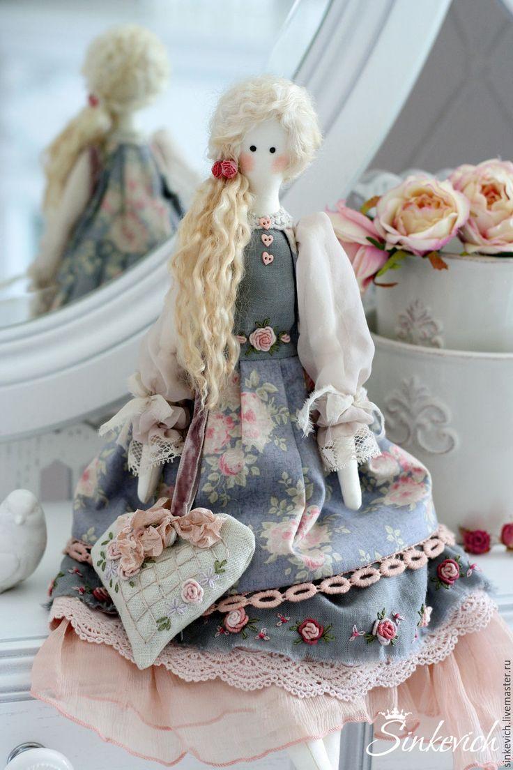 Купить Сусанна - кукла, кукла ручной работы, кукла интерьерная, кукла текстильная, тильда