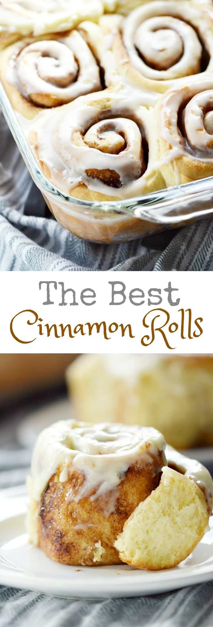 Good morning sunshine! These are The Best Cinnamon Rolls guaranteed to brighten up the dreariest of mornings, and they come with two icing options!! #feastndevour #breakfast #holidayrecipes #cinnamon via @cookwithcurls