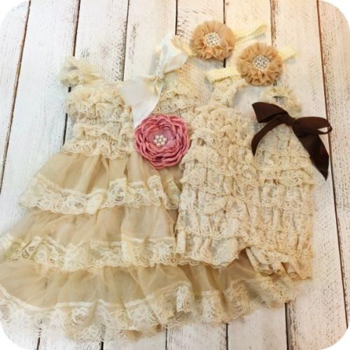 Harper S Sister Dresses Matching Outfits Family Photo Ideas Baby Romper