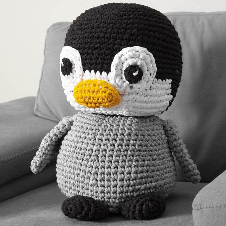 Amigurumi: Incríveis Receitas de Pinguins Amigurumis   Modelos de ...   736x736