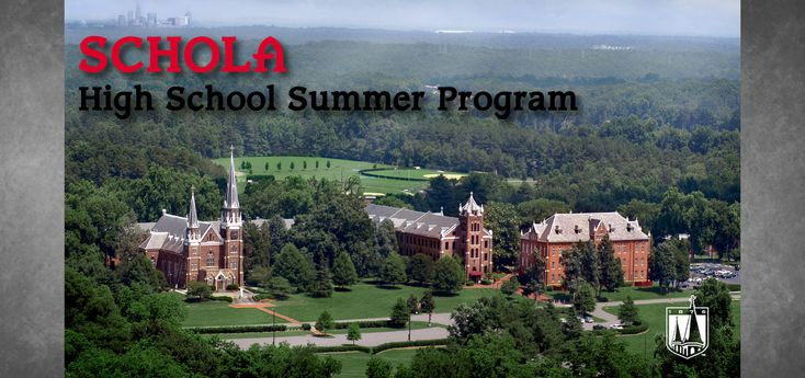 Schola: Summer Program for High School Students - Belmont Abbey College: Private | Catholic | Charlotte, NC
