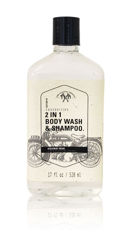 """Perfect for Father's Day! """"Highway Man"""" 2-in-1 Body Wash & Shampoo by Tri-Coastal Design"""