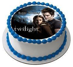 Twilight Edible Birthday Cake Topper OR Cupcake Topper, Decor #edibleprintsoncake, #ediblecaketopper, #ediblecakeimage,