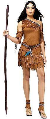 Pow Wow Sexy Nativo Americano Princesa Indiana traje adulto