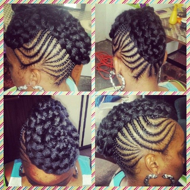90 best adult cornrows images on Pinterest | Natural hairstyles, Braided hairstyles and Natural updo