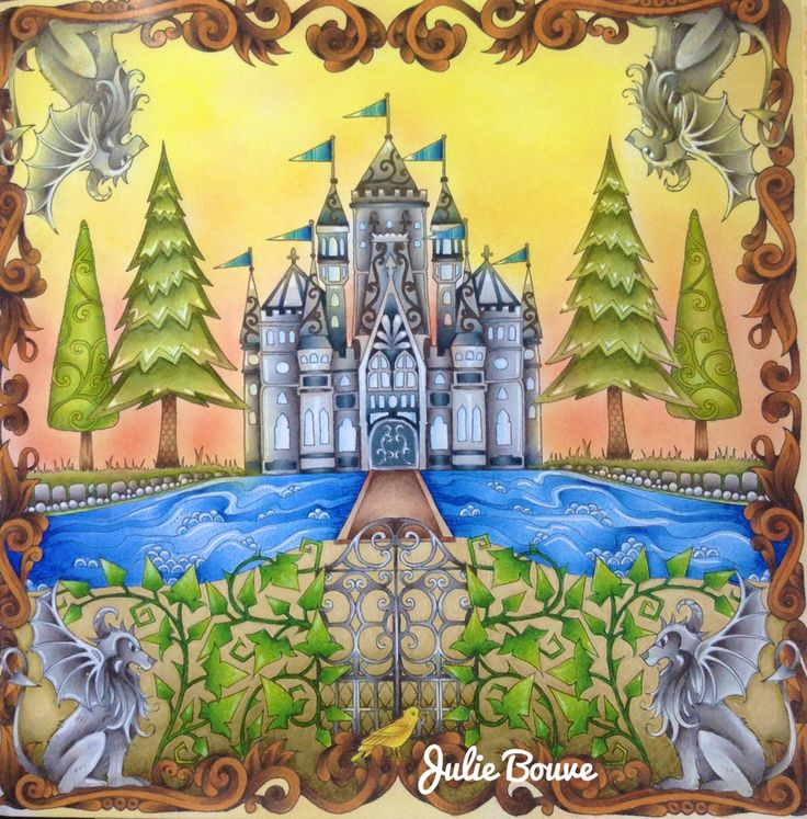 Enchanted Forest Johanna Basford Video Youtube LVf9KM86Vz8 Colored PicturesColoring BooksAdult