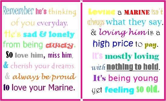 So true about my marine