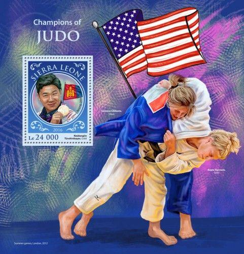 SRL16908b Judo champions (Naidangiin Tüvshinbayar, Gold, Summer games, Beijing, 2008)