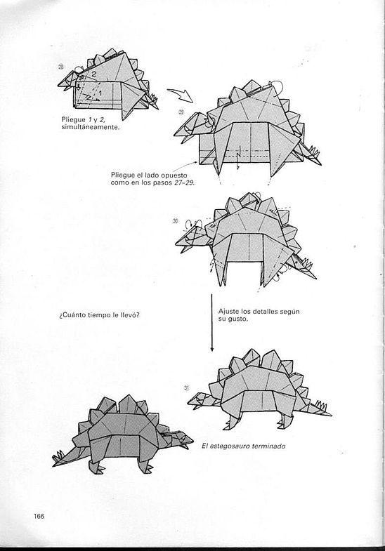 kunihiko kasahara y Toshie Takahama (Papiroflexia) - Origami para expertos 165_page165