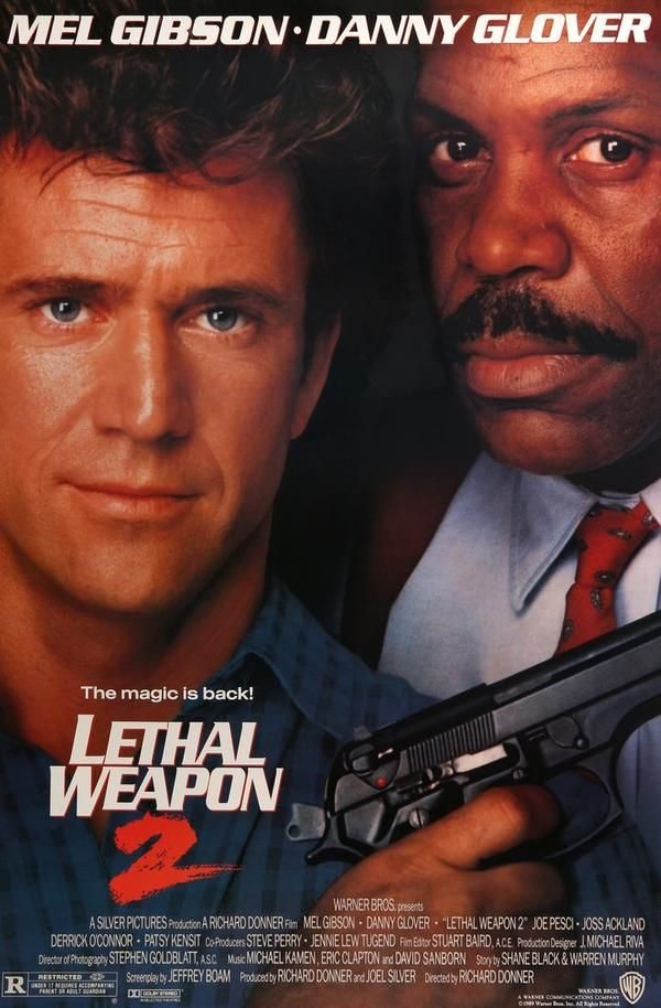 Lethal Weapon 2 (1989) in 2019 | Original Movie Posters at