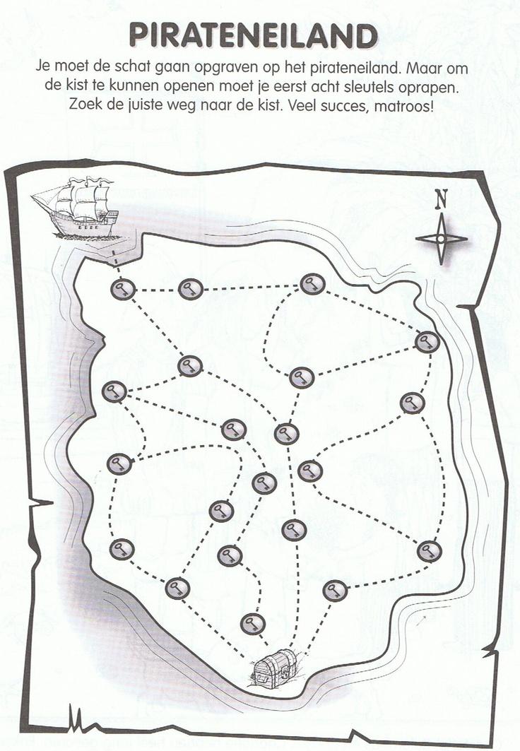 schatkaart