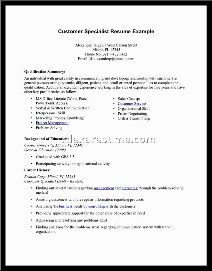 summary examples for retail professional resume sample qualifications