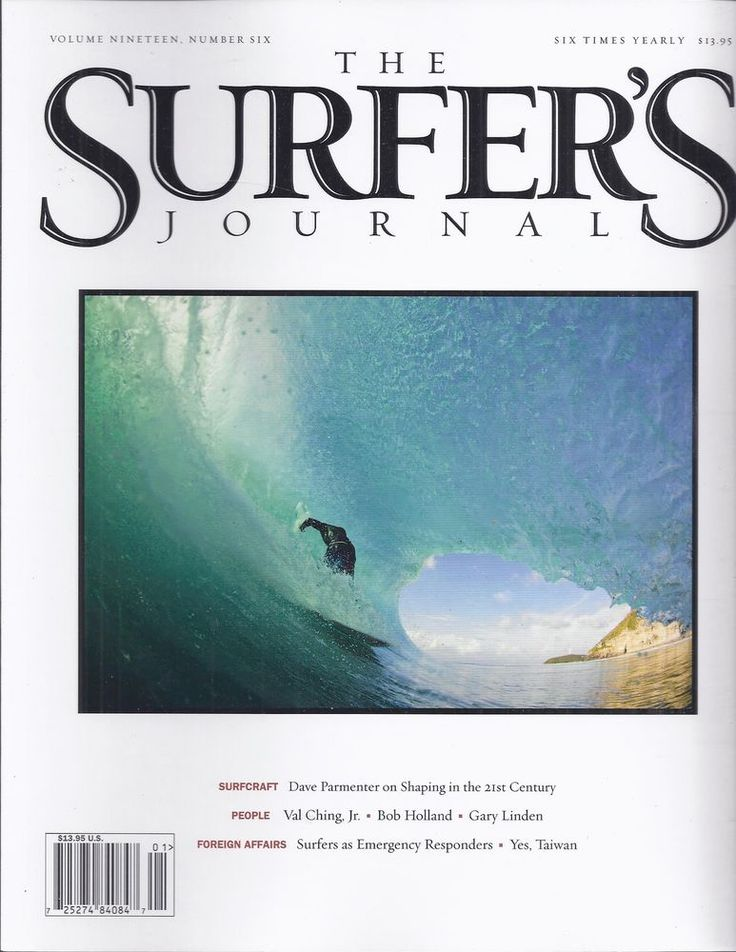 Surfers Journal magazine Dave Parmenter Bob Holland Emergency responders Taiwan