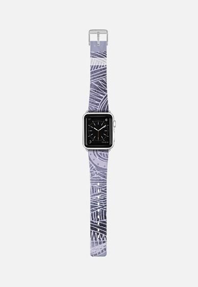 Casetify Apple Watch Band (38mm) {{case}} - grey abstract watch by Marianna #Casetify