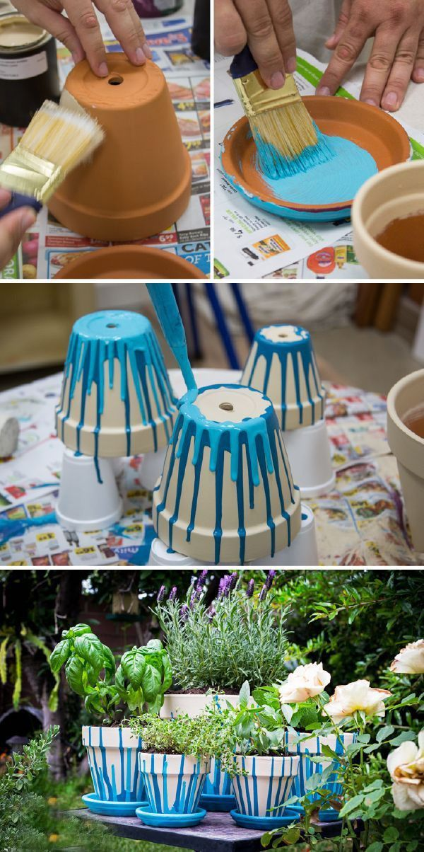 Beautiful diy dekoration gartendeko selber machen