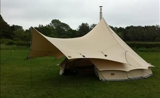 Green Outdoor | Bell Tent Porch Tarp