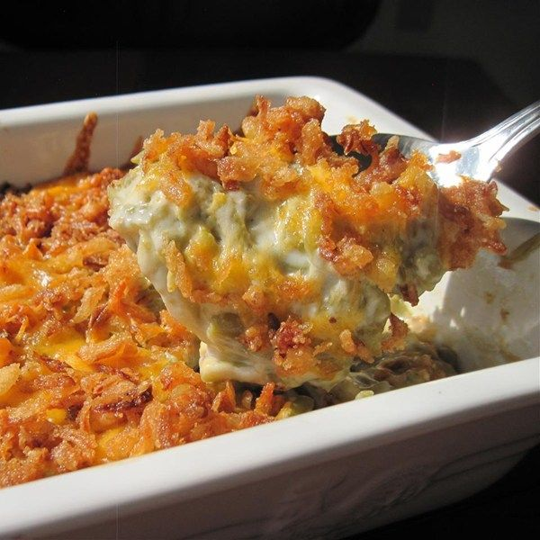 "Best Green Bean Casserole | ""Talk about kicking it up a notch! Jan, this was a perfect example of how small changes can make a BIG difference."""