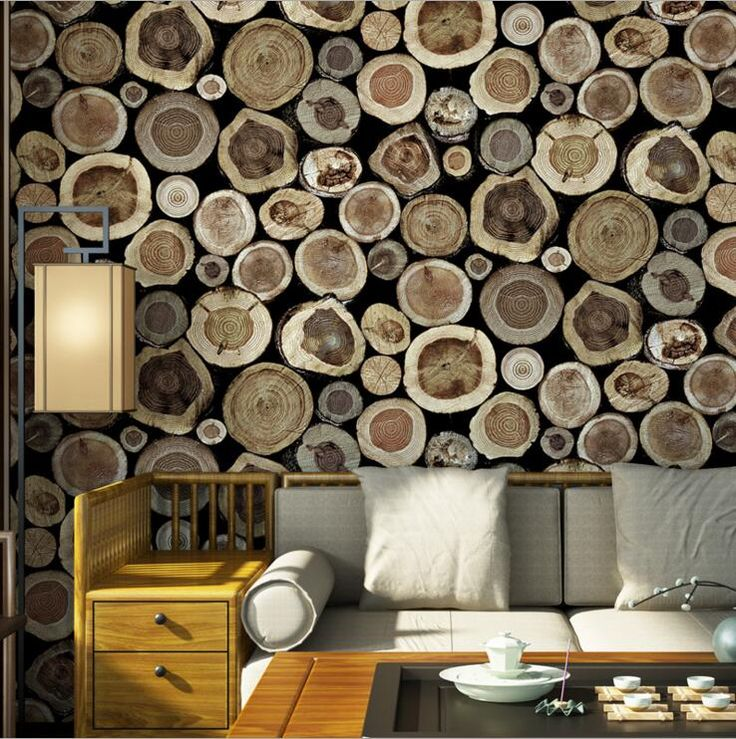 Quality 3D Wood Natural Texture Embossed Waterproof Wall Paper Roll Living Room Desktop Wallpaper Retro Mural Papel De Parede