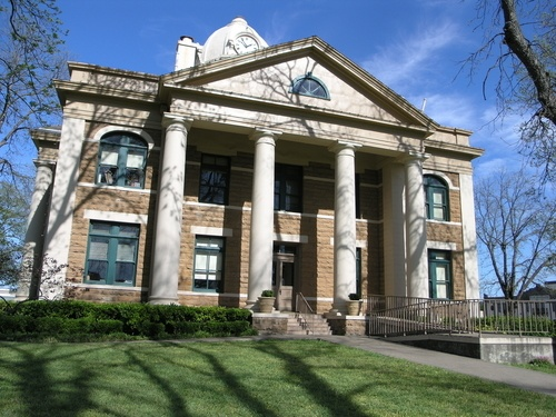 Mason County Courthouse in Mason, Texas