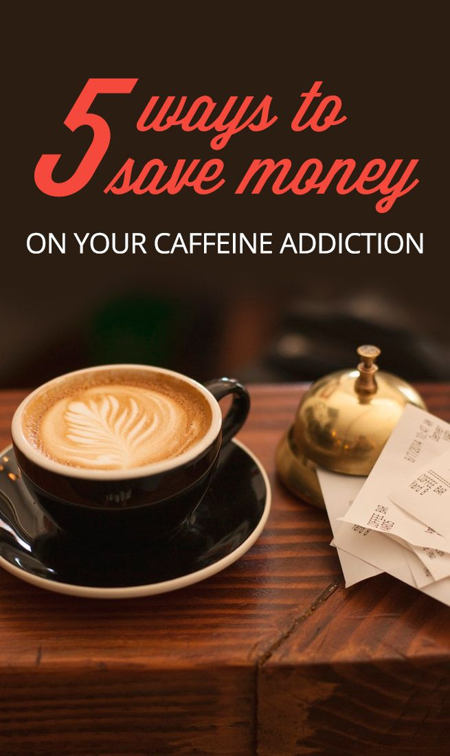 If the thought of giving up your morning caffeine fix is too great to bear, here are a few ways to save money on your caffeine addiction!