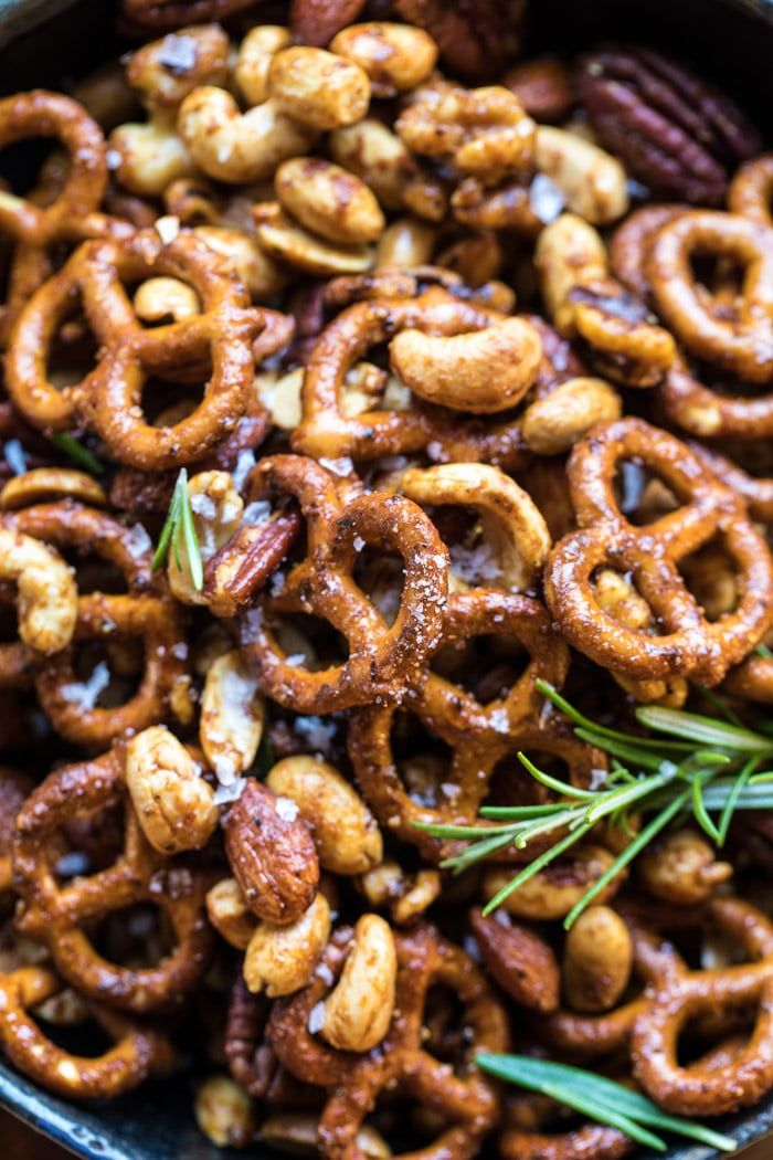 Sweet N Savory Roasted Nuts And Pretzels