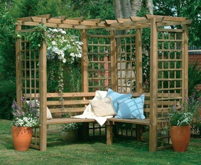 pergola 50p. garden with pergola design u2013 50 ideas for your summer 50p