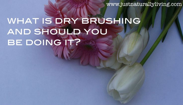 If eliminating toxins from your body is important to you I highly suggest you try dry brushing. Your skin is your bodys largest organ and is its primary way to eliminate toxins, a whopping 1/3 of he body's toxins are excreted through the skin. Dry brushing unclogs your pores and better allows toxins to escape …