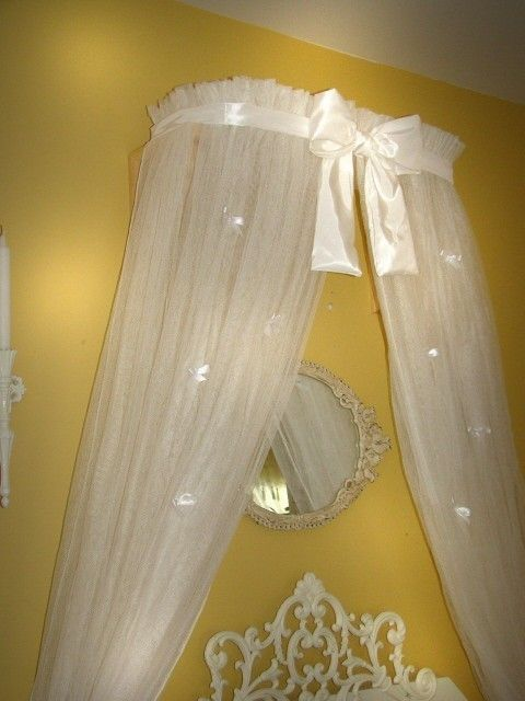 Princess Bed canopy CrOwN with curtains SaLe by SoZoeyBoutique, $59.99